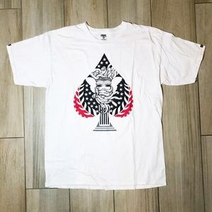 CROOKS AND CASTLES - SPADES T-SHIRT